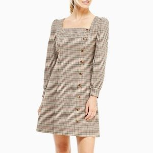 NWT GAL MEETS GLAM Brooke Houndstooth Check Dress